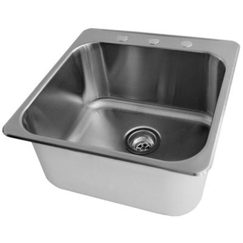 Stainless Steel Laundry Sink (20 x 20 1/2 x 7)
