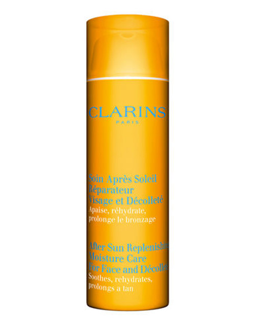 Clarins After Sun Replenishing Moisture  Care For Face And Décolleté - No Colour