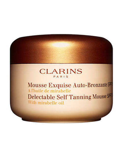 Clarins Delectable Self Tanning Mousse SPF 15 - No Colour