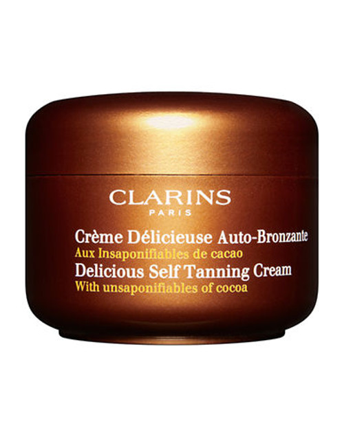 Clarins Delicious Self Tanning Cream - No Colour