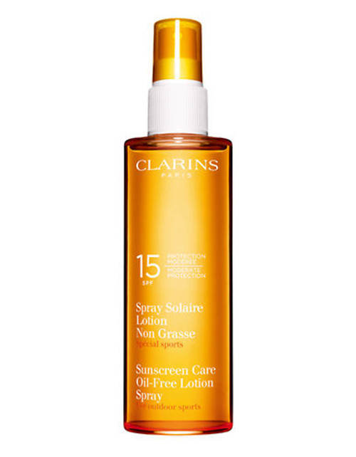 Clarins Sun Care Spray Oil-Free Lotion Moderate Protection SPF 15 - No Colour