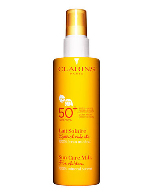 Clarins Sun Care Milk For Children UVA/UVB 50+ 100% mineral screen - No Colour