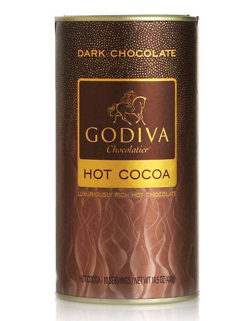 Godiva Dark Chocolate Hot Cocoa Canister - Cocoa