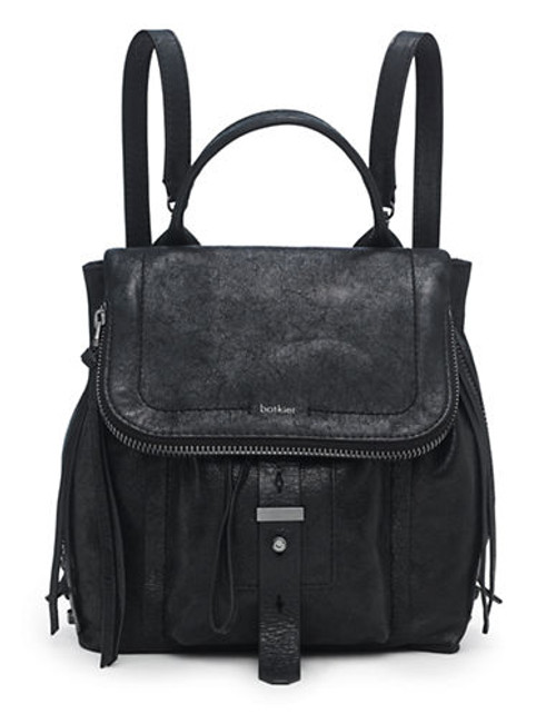 Botkier Warren Backpack - Black/Gunmetal