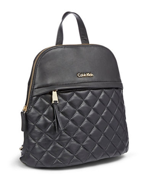 Calvin Klein Chelsea Quilted Backpack - Black