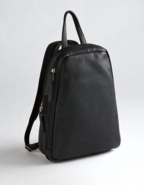Derek Alexander Central Park Backpack - Brown