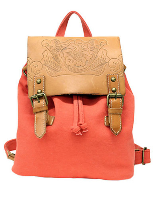 Lucky Brand Alameda Backpack - Cayenne