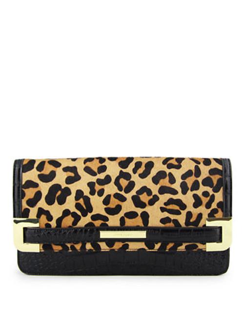 Anne Klein Hear Me Roar medium clutch Mini Bag - Brown
