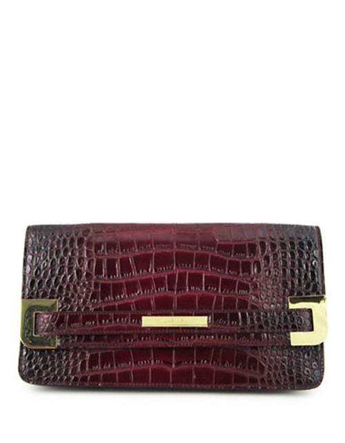 Anne Klein Hear Me Roar medium clutch Mini Bag - Red