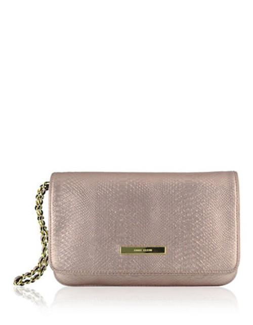 Anne Klein Pretty in Pink large clutch Mini Bag - Gold