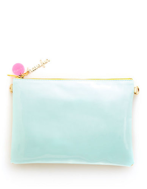 Bando Flipside Clutch - Turquoise/Gold