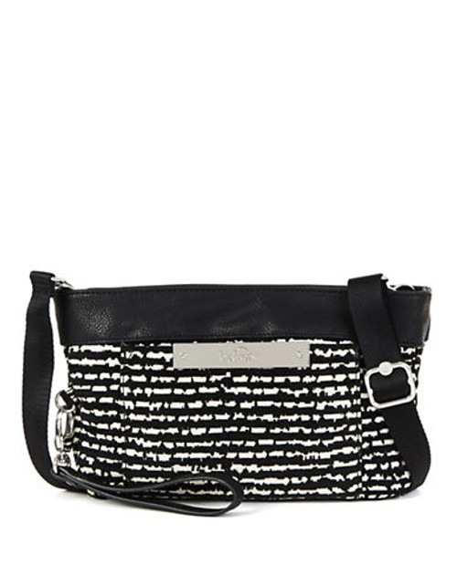 Kipling Carlisa Mini Bag - Black/White