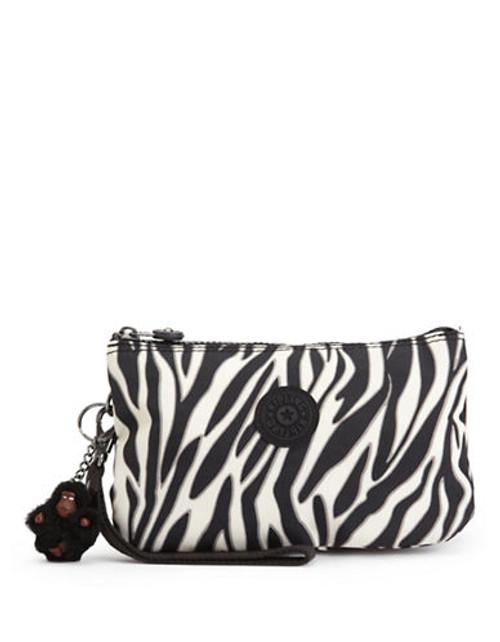 Kipling Creativity Polka Dot Wristlet - Black Zebra