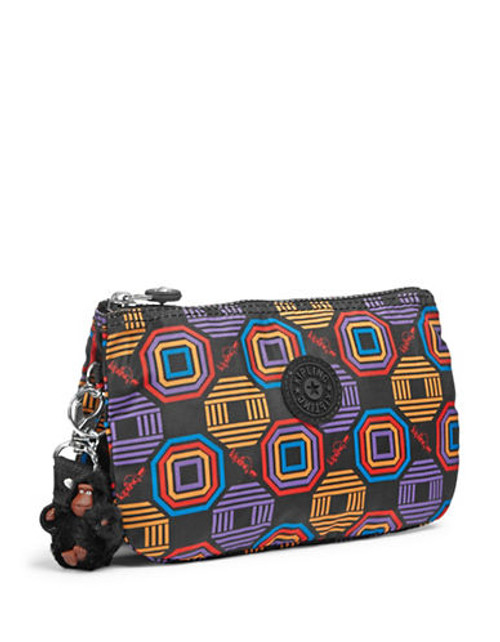 Kipling Creativity Polka Dot Wristlet - Honeycomb