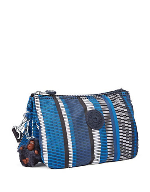 Kipling Creativity Polka Dot Wristlet - Blue