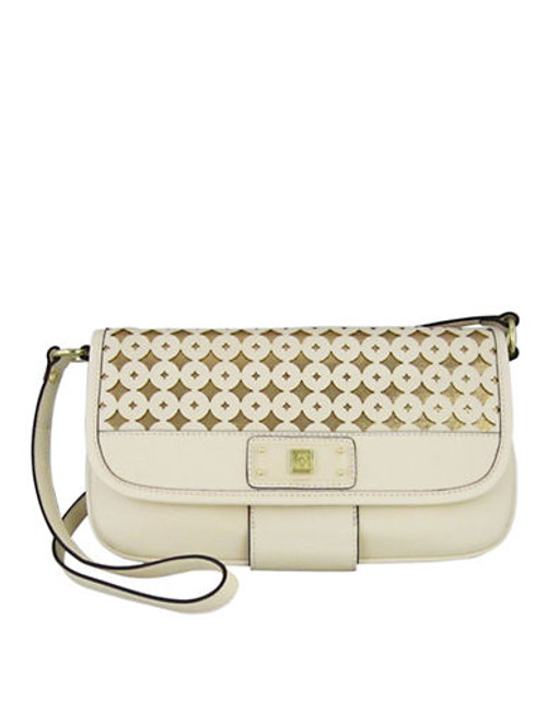 Anne Klein Classic Perfection Medium Shoulder Bag - Natural