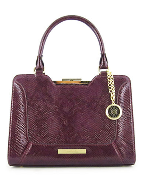 Anne Klein Frame It medium Satchel - Purple