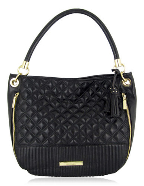 Anne Klein Mix It Up large Hobo - Black