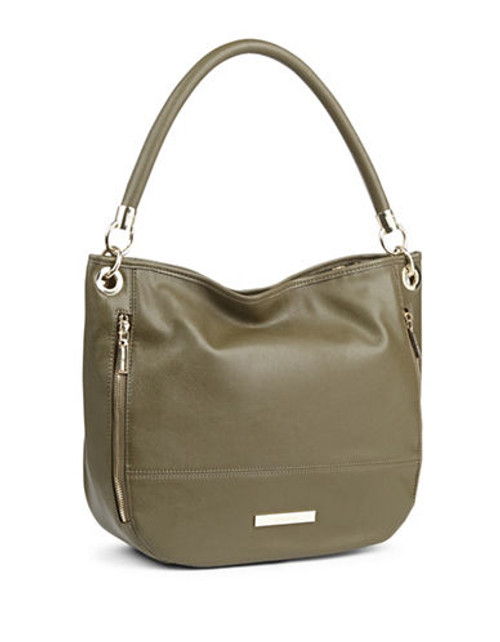 Anne Klein Military Luxe Large Hobo - Olive