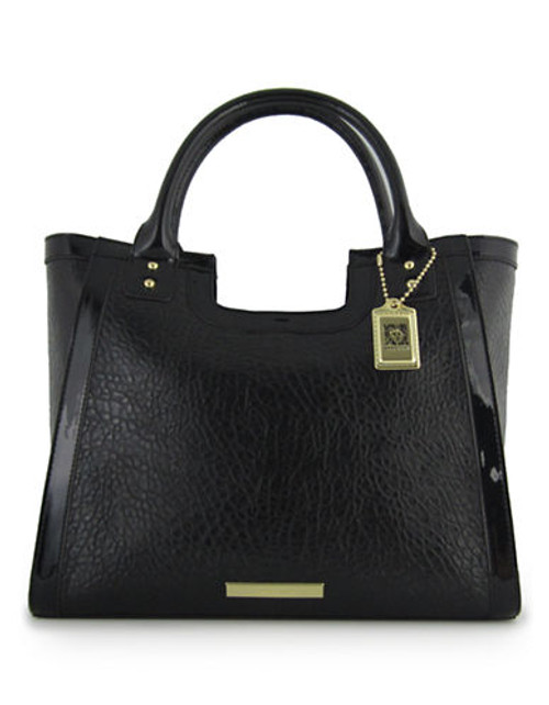 Anne Klein Against the Grain Large Tote - Black