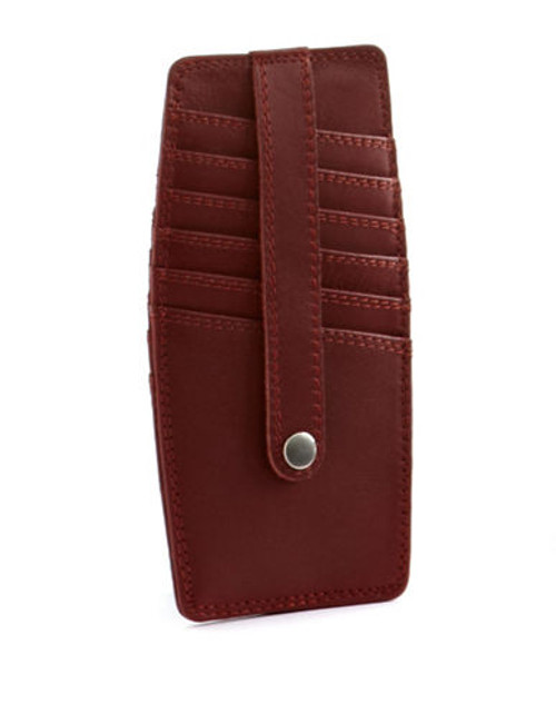 Derek Alexander Card Holder - Red