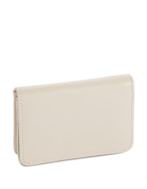 Derek Alexander Simple Business Card and Credit Card Case - Beige