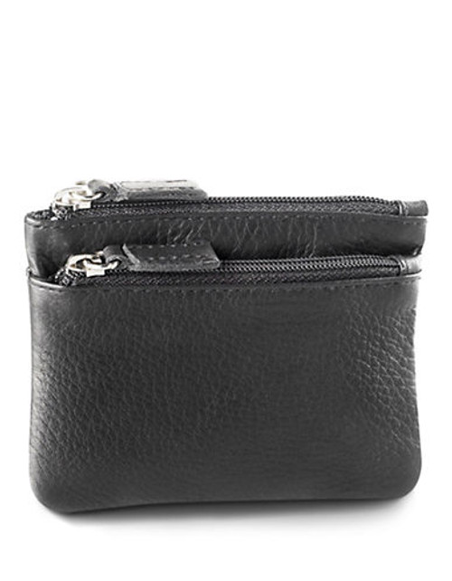 Derek Alexander Small Multi Purpose Leather Accessory - Black