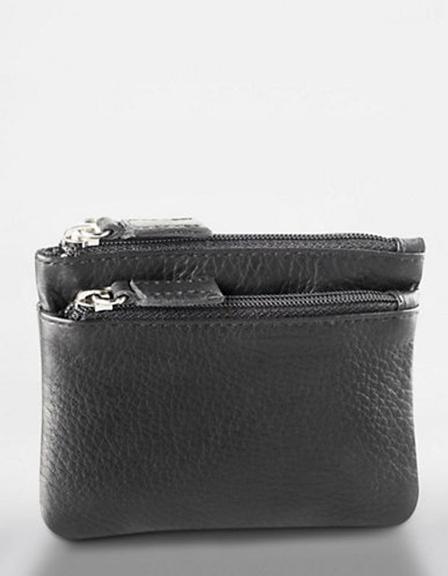 Derek Alexander Small Multi Purpose Leather Accessory - Brown