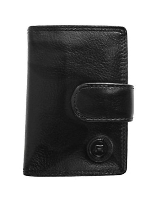 Club Rochelier Traditional Jumbo Card Holder - Black