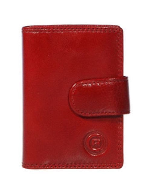 Club Rochelier Traditional Jumbo Card Holder - Red