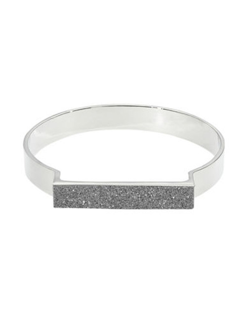A.B.S. By Allen Schwartz Glitter Bangle Bracelet - Multi