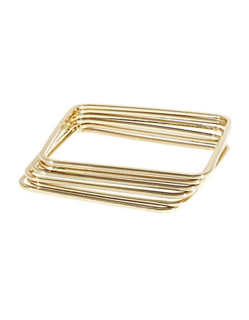 A.B.S. By Allen Schwartz Bangle Set - Gold