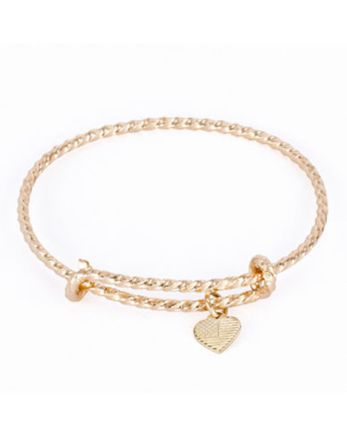 Alex And Ani America the Beautiful Coll Gold Plated No Stone Bangle - Gold