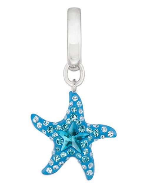 Swarovski Blue Sea Star Charm - Blue