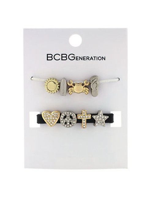 Bcbgeneration Custom Affirm Beach Charm Kit - Mixed Metal