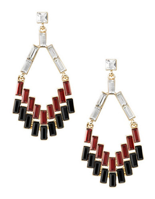 A.B.S. By Allen Schwartz Baguette Chandelier Earrings - Assorted