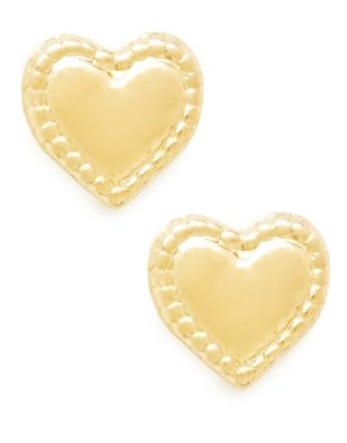 Fine Jewellery Children's 14kt Yellow Gold Earrings - YELLOW GOLD