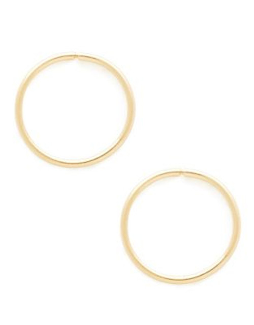 Fine Jewellery Children's 14kt Yellow Gold Endless Hoops - YELLOW GOLD