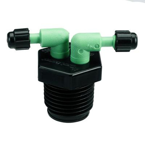 1/2 In. Mpt Bi-manifold II; Cd