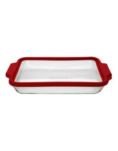 Anchor Hocking 3 quart Baking Dish with TrueFit lid - CLEAR