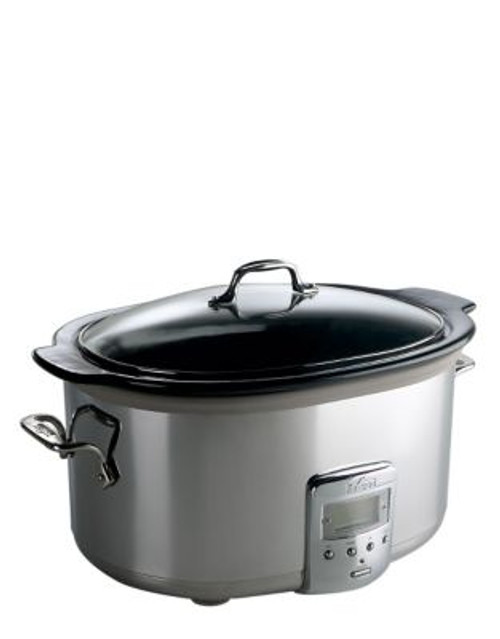 All-Clad 6.5 quart Slow Cooker - SILVER