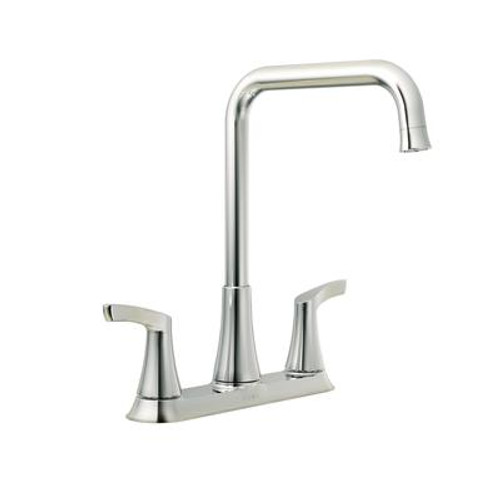 Danika 2 Handle Kitchen Faucet - Chrome Finish