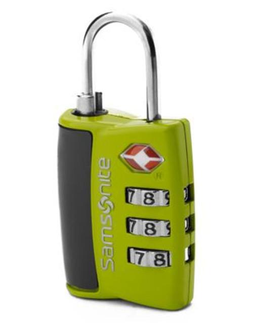 Samsonite 3 Dial Tsa Cable Lock - GREEN
