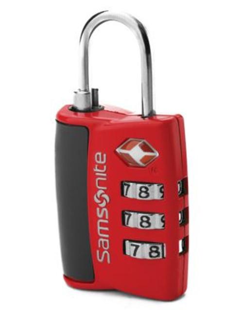 Samsonite Combination Lock - RED