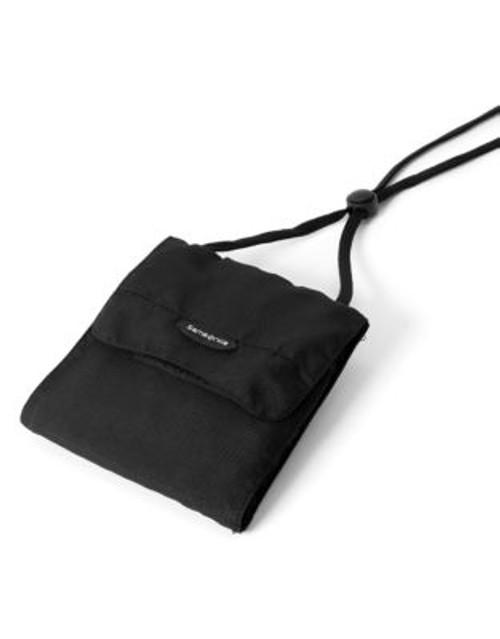 Samsonite Neck Pouch - BLACK