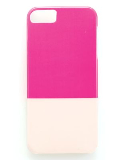 Bando Frills Printed iPhone Cover - PINK/BLUSH