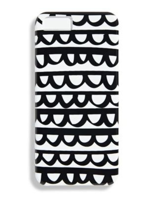 Bando Frills Printed iPhone Cover - WHITE
