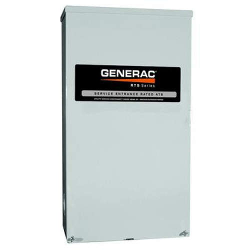CSA Approved Service Rated 100 Amp Automatic Transfer Switch 120/240V Nema 3R