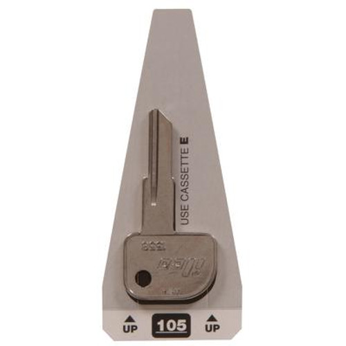 #105 Axxess Key - Canada Postal Locks