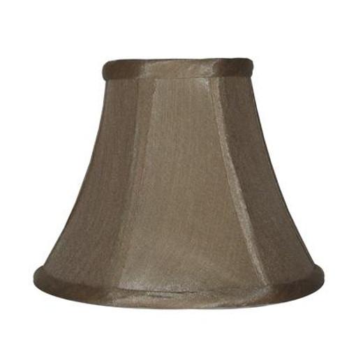 5 Inch Taupe Shantung Lamp Shade
